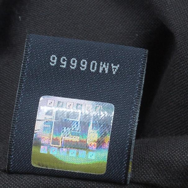 Fendi Brown Zucca Nylon Messenger Bag