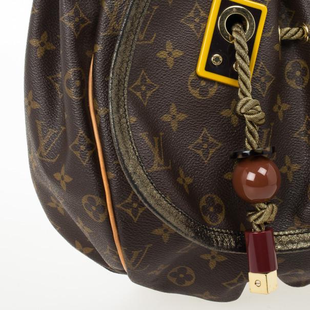 Louis Vuitton Limited Edition Monogram Kalahari GM Shoulder Bag