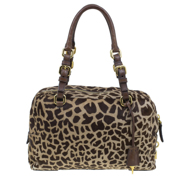 how much do prada sneakers cost - Prada Brown Animal Print Pony Hair Boston Bag - Buy \u0026amp; Sell 2912 - LC