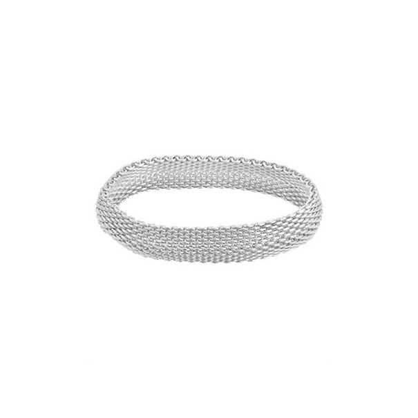 Tiffany & Co. Somerset Medium Silver Bracelet