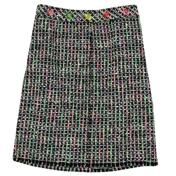 Marc Jacobs Multicolored Tweed Pencil Skirt L