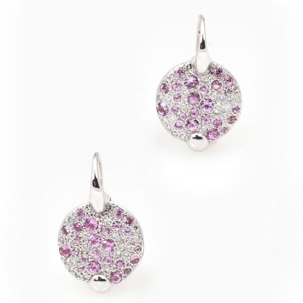 Pomellato Sabbia Pink Sapphires and Diamonds Earrings