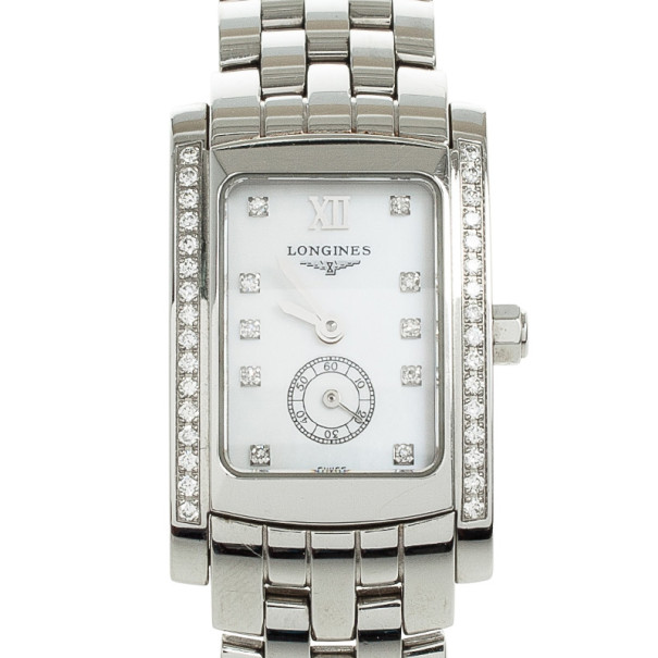 Longines Dolce Vita Mother Of Pearl SS Womens 19.8 MM