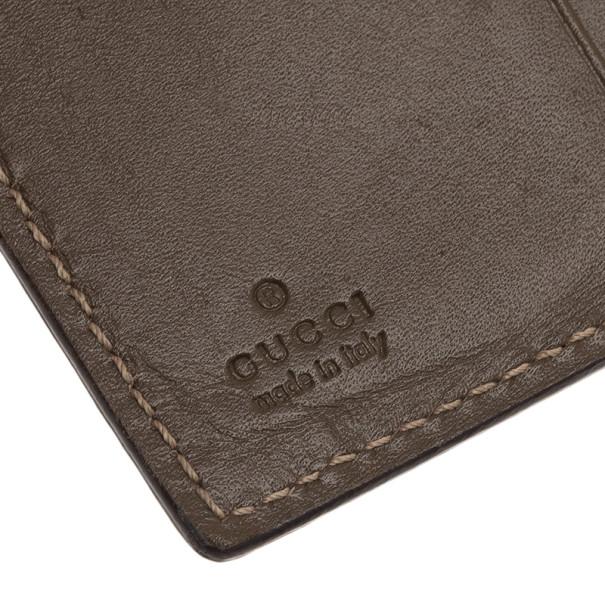 Gucci Brown Monogram Card Holder