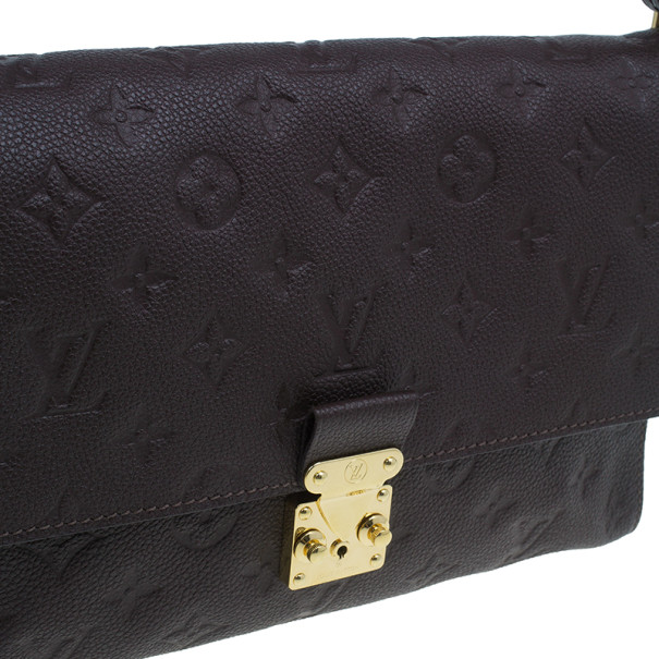 Louis Vuitton Brown Monogram Empreinte Fascinante Shoulder Bag