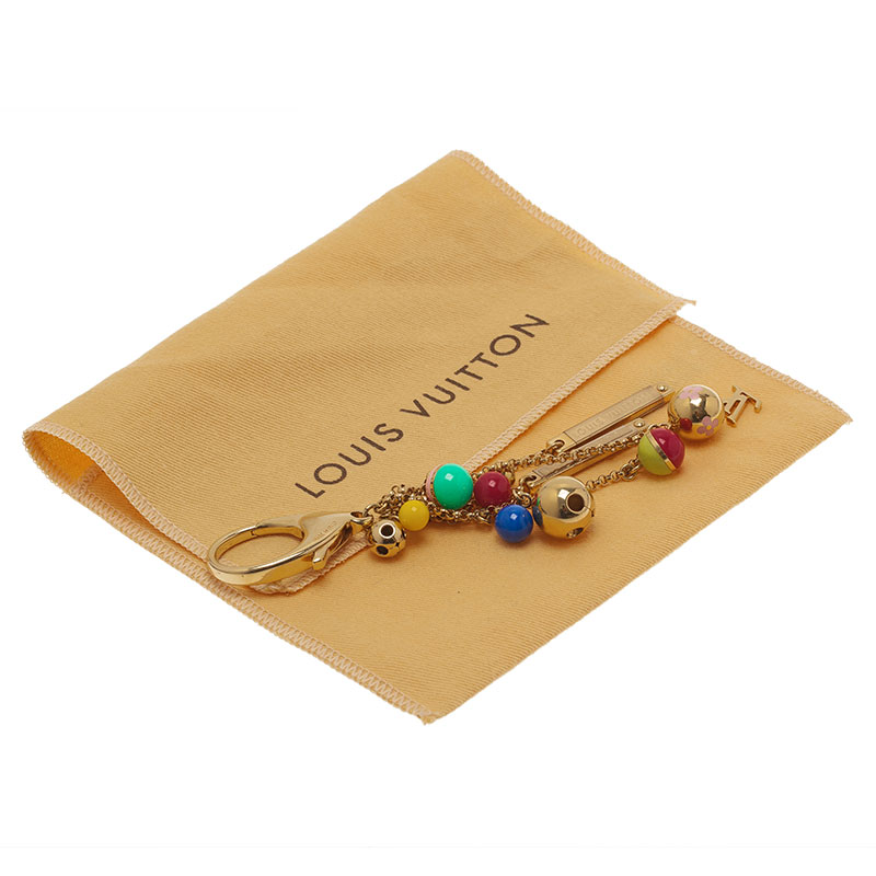 Louis Vuitton Multicolor Chaine Grelots Bag Charm