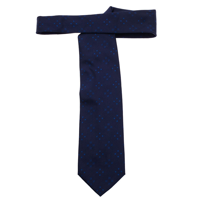 Louis Vuitton Blue Tie