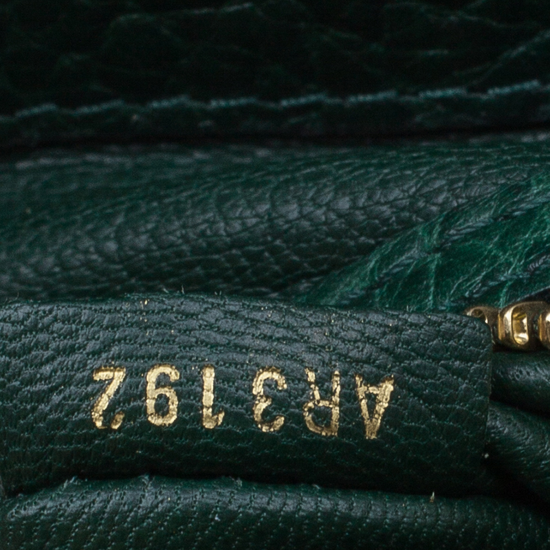 Louis Vuitton Monogram  Ostrich and Lizard Majestoux Tote PM