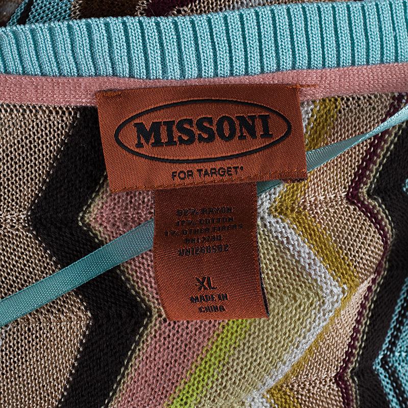 Missoni Printed Waves Cardigan XL
