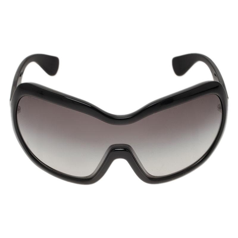 Prada Black SPR05O Ski Mask Inspired Sunglasses