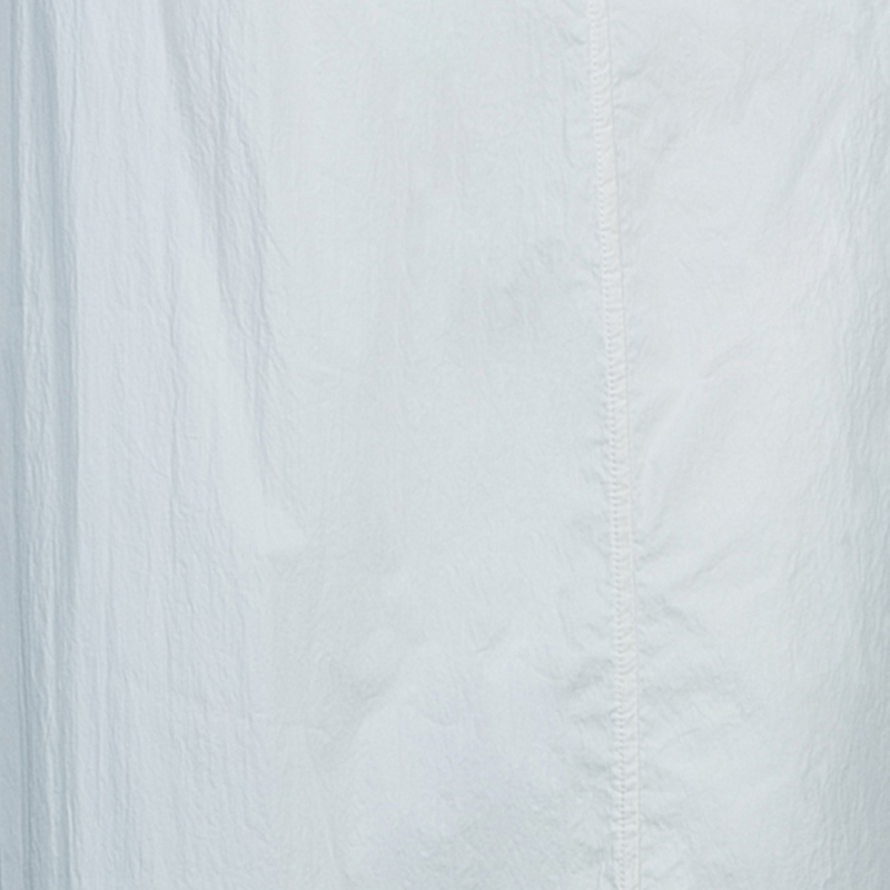 Kenzo Cream Cotton A-Line Maxi Skirt M