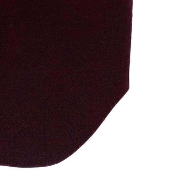 Emporio Armani Crimson Neoprene Velvet Structured Gown S