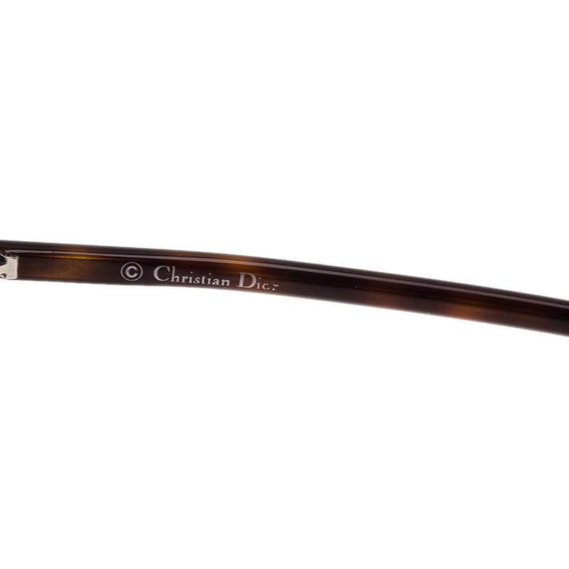 Dior Tortoise Frame So Real Round Sunglasses