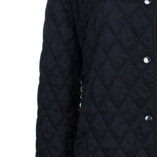 Burberry Ashurst Black Quilted Jacket XXL