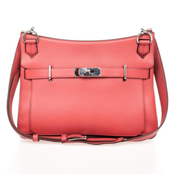 ... Hermes Rose Jaipur Taurillon Clemence Leather Jypsiere 34 Bag.  nextprev. prevnext