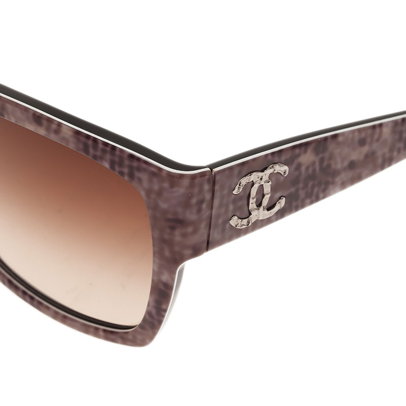 Chanel Printed CC Logo Sunglasses