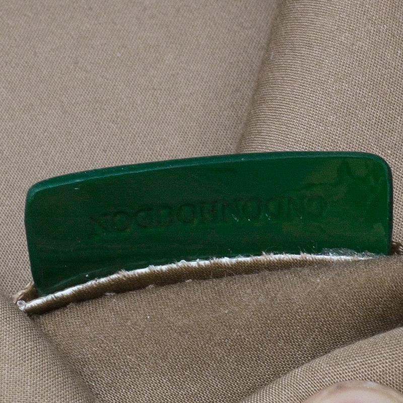 Burberry Green Super Nova Check Nickie Tote