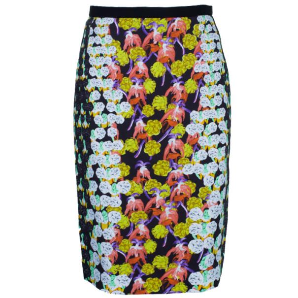 Peter Pilotto Erin Printed Pencil Skirt L
