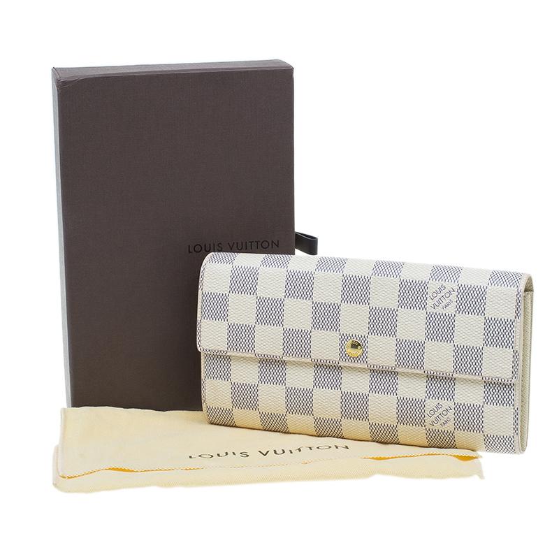 Louis Vuitton Damier Azure Sarah Wallet