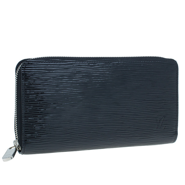 Louis Vuitton Black Epi Leather Zippy Continental Wallet