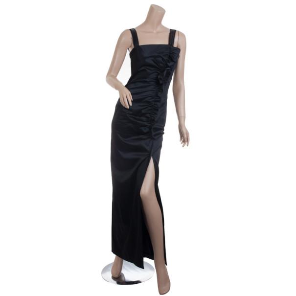 Philosophy alberta ferretti black dress