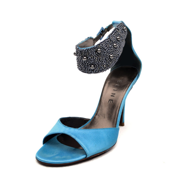Céline Embellished Ankle-Strap Sandals Inexpensive cheap price for sale discount sale discount price for sale sale online xzczv6gQrb