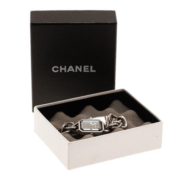 Chanel Black Stainless Steel Premiere H3248 Women's Wristwatch 20MM