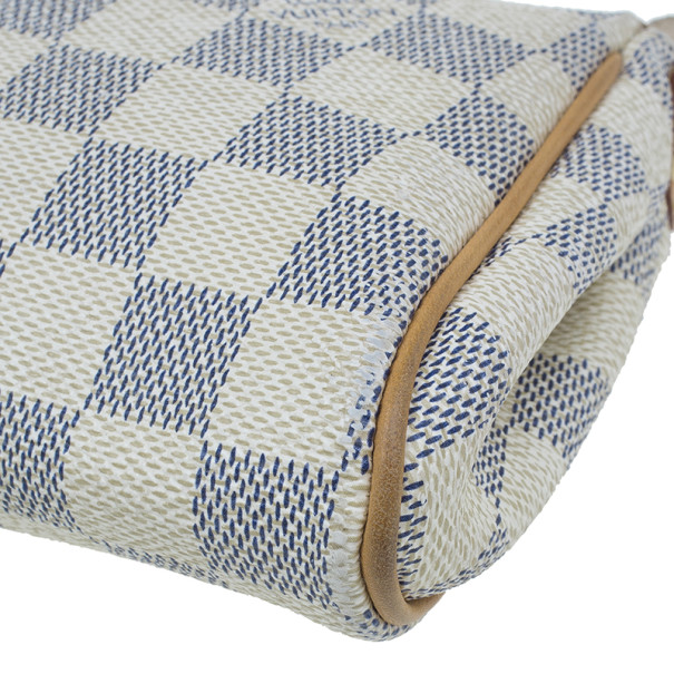 Louis Vuitton Damier Azur Canvas Eva Pochette