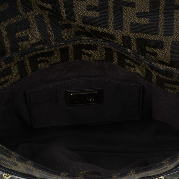 Fendi Brown Zucca Chef Bag