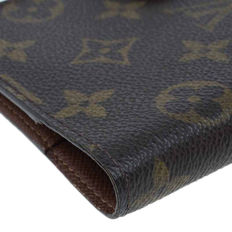 Louis Vuitton Monogram Canvas Small Ring Agenda