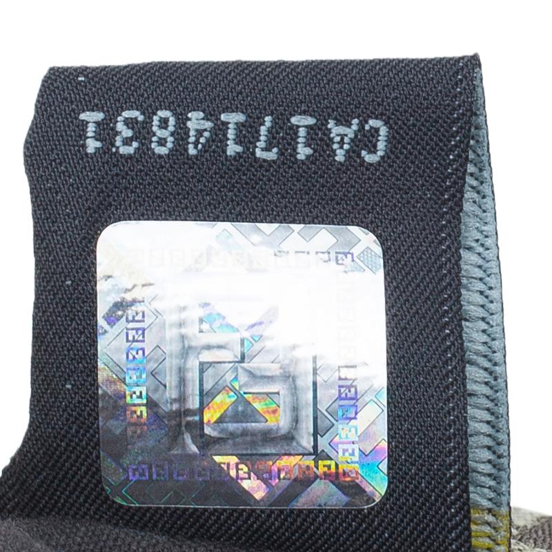 Fendi Multicolor  Zucchino Canvas Small Forever Crossbody Bag
