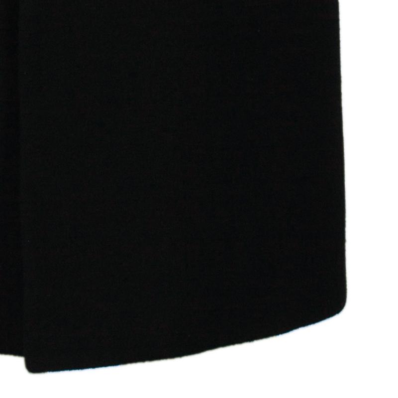 Boss By Hugo Boss Men's Black Daniels Cashmere Wool Long Coat L