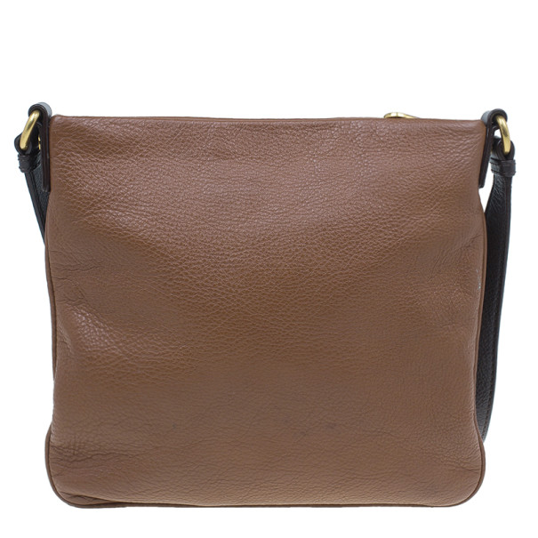 Marc by Marc Jacobs Brown Leather Too Hot To Handle Sia Crossbody