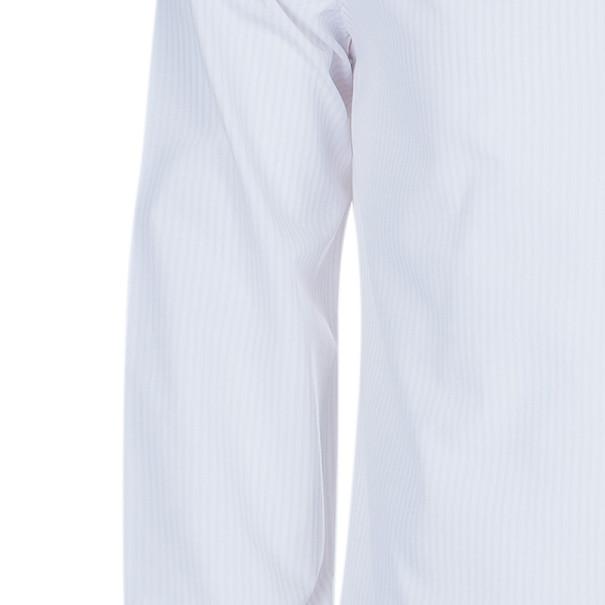 Louis Vuitton Men's Light Pink Pinstripe Shirt L