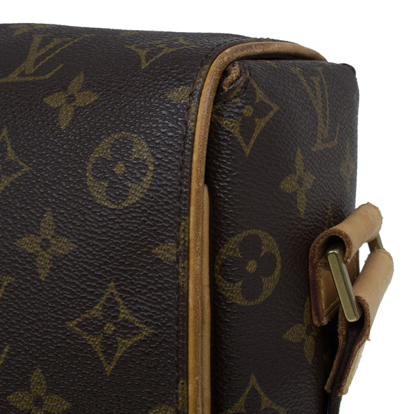 Louis Vuitton Monogram Canvas Abesses Messenger Bag