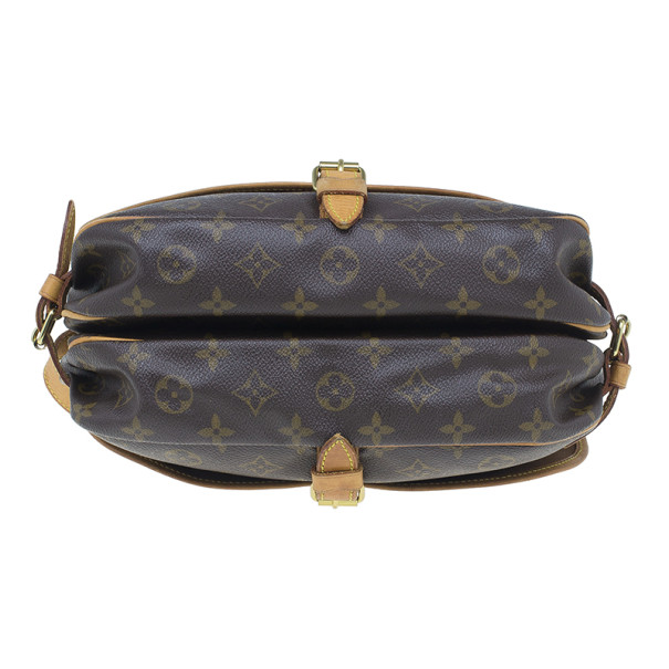 Louis Vuitton Monogram Canvas Saumur 30