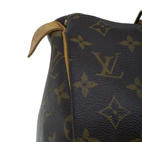 Louis Vuitton Monogram Canvas Speedy 30
