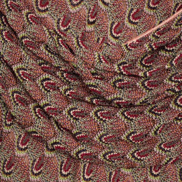 Missoni Multicolor Crochet Gown S