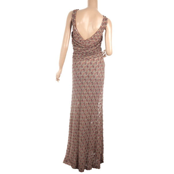 Missoni Multicolor Crochet Gown S