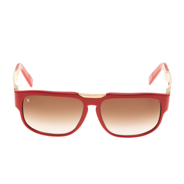 Louis Vuitton Red Attirance Sunglasses