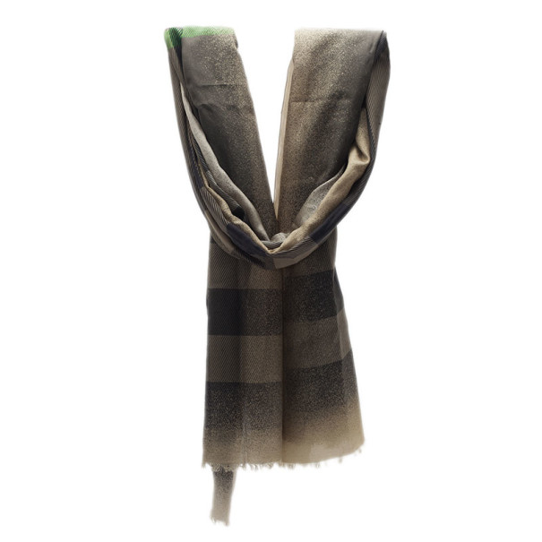 Burberry Dull Gold Novacheck Stole
