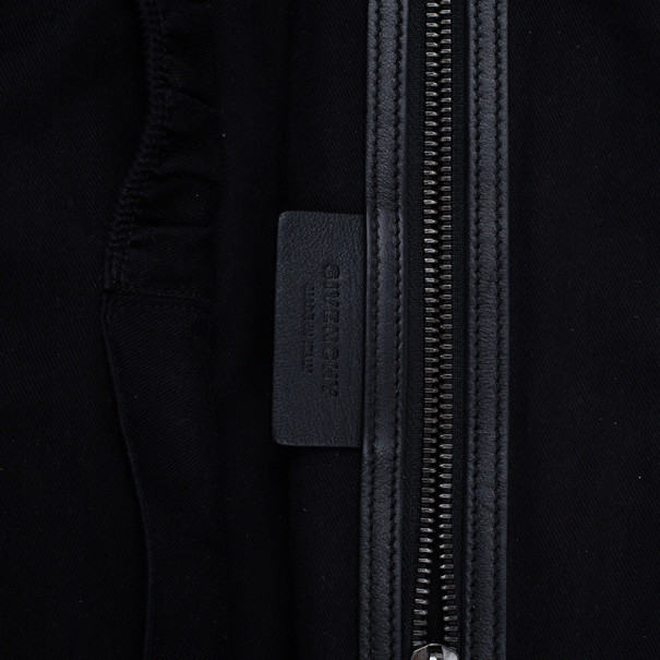 Givenchy Purple Grain Leather Medium Nightingale Shoulder Bag