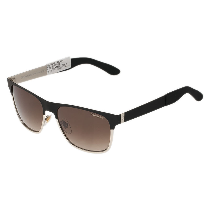 Saint Laurent Paris Black and Silver 2334S Sunglasses