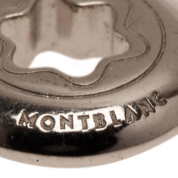 Montblanc Star Signet Silver 1 Diamond Earrings