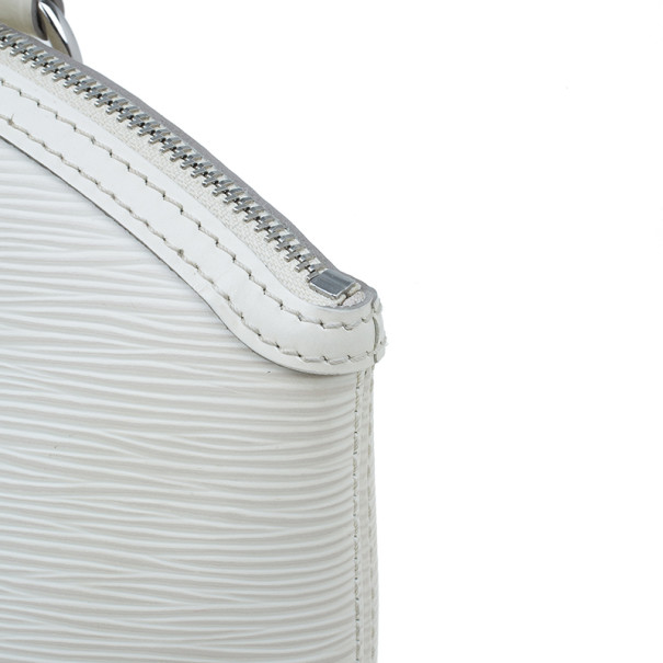 Louis Vuitton Ivory Epi Leather Lockit Tote