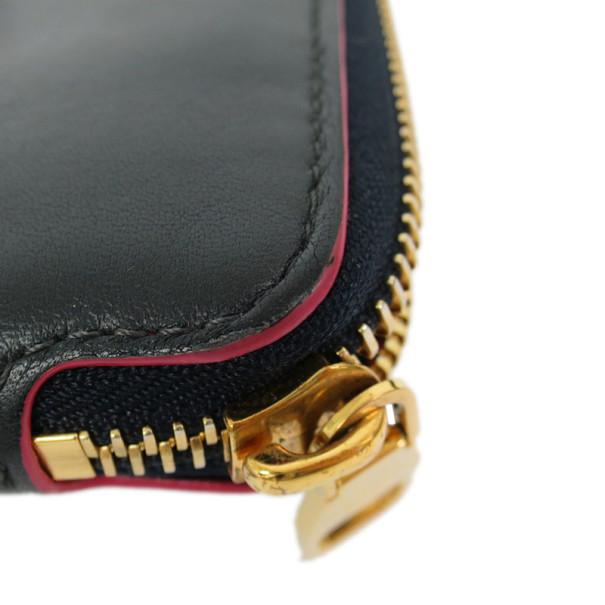 Louis Vuitton Cobalt Veau Soie Leather Lena Wallet