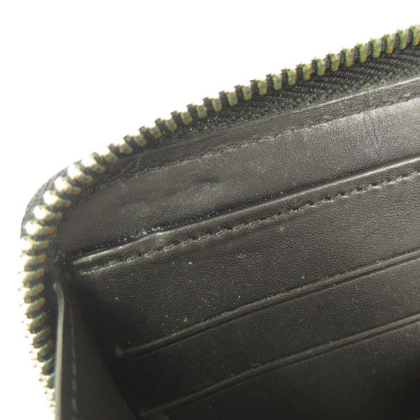 Louis Vuitton Noir Nomade Zip Around Contential Wallet