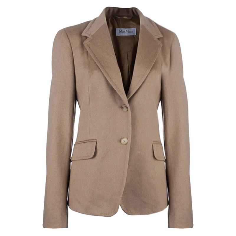 Max Mara Camel Jacket L