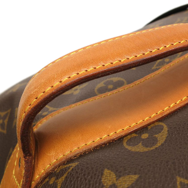 Louis Vuitton Monogram Sac Marine Bandouriere Boston Bag