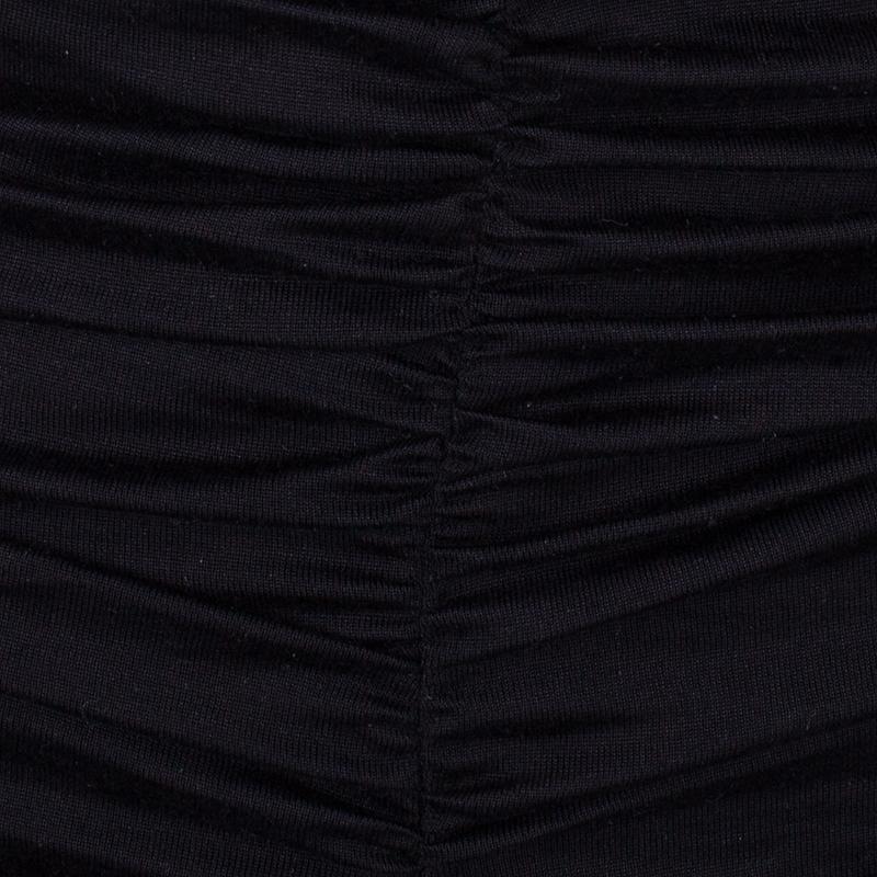 Giambattista Valli Off Shoulder Ruched Dress S